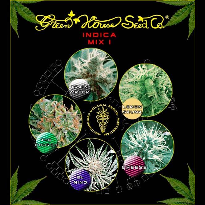 Indica Mix I  - GreenHouse - Seed Banks