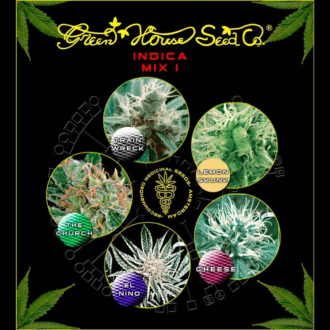Indica Mix I  - GreenHouse - Seed Banks