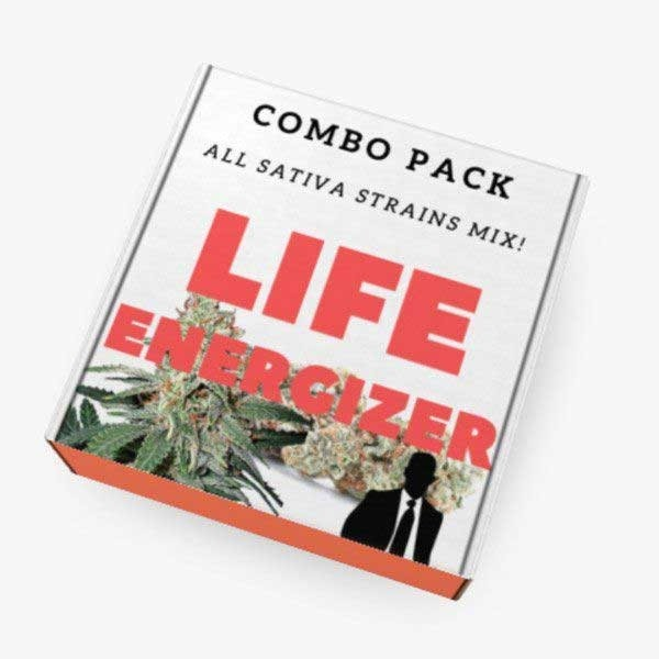 LIFE ENERGIZER COMBO - Ministry of Cannabis - Seed Banks