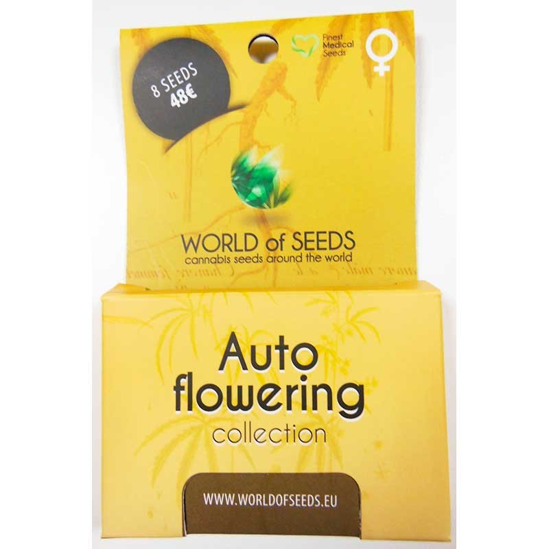 Autoflowering Collection - 8 seeds - World of Seeds - Seed Banks
