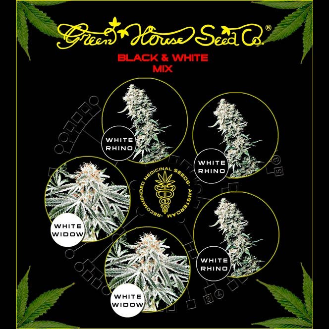 Black & White Mix  - GreenHouse - Seed Banks