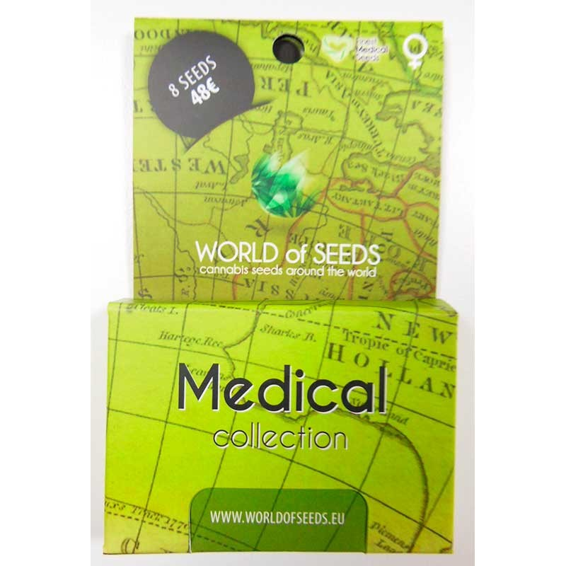 Medical Collection - 8 seeds - World of Seeds - Seed Banks