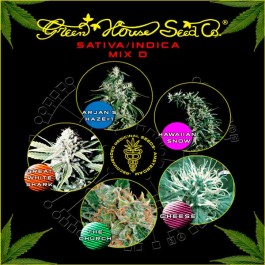 Sativa / Indica Mix D - Samsara Seeds - GreenHouse