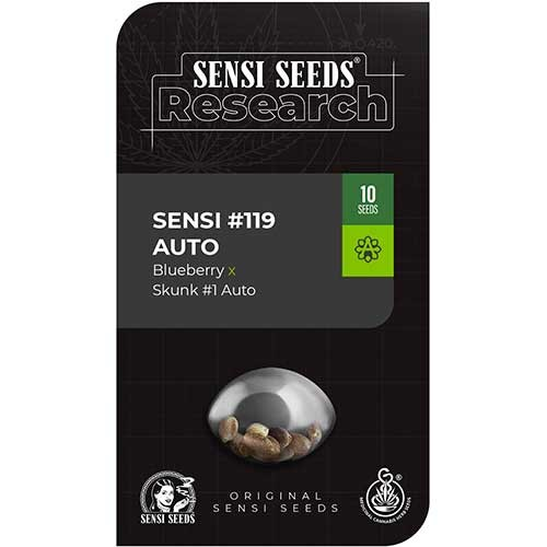 Sensi #119 Auto (Blueberry x Skunk #1 Auto) - Sensi Seeds - Seed Banks